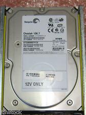 10 X Seagate ST3300007FCV 300 GB De Fibra Canal FC 10K unidad de disco duro de conexión en caliente
