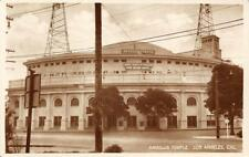 RPPC ANGELUS TEMPLE Los Angeles, CA Aimee Semple McPherson ca 1920s Postcard