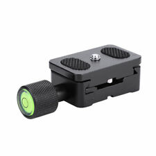 "Tripod Quick Release Plate 1/4"" Screw Adapter Mount Head for DSLR Digital Camera"