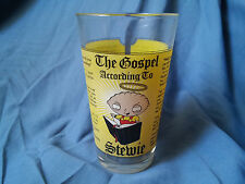 Family Guy The Gospel According to Stewie Glass Used Made in USA