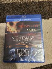 Friday the 13th/Nightmare on Elm Street/Freddy vs. Jason (Blu-ray Disc, 2012)
