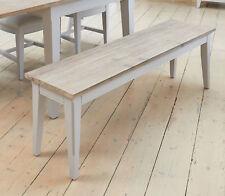 Signature Range Dining Bench 150cm Grey Furniture-baumhaus