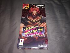 Street Fighter II Turbo for 3DO Brand NEW / Sealed game / NEAR MINT