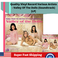 Quality Vinyl Record Various Artists - Valley Of The Dolls (Soundtrack) [LP]