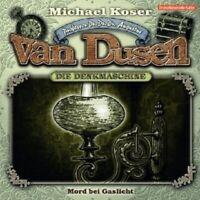 "PROF.DR.DR.DR.AUGUSTUS VAN DUSEN""MORD BEI..."" CD NEW"