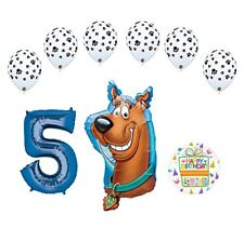 Mayflower Products Scooby Doo 5th Birthday Party Supplies Balloon Bouquet