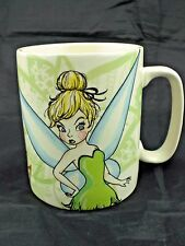 Disney Tinkerbell 14 Oz Ceramic Mug Full of Feistytude NEW Peter Pan Tinker Bell