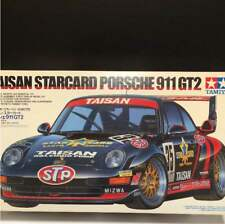 Vintage Rare Tamiya Taisan Star Card Porsche 911 GT 2 From JAPAN Free shipping