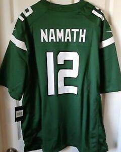 Nike Men's Joe Namath New York Jets 🏈 Jersey Sz. 2XL NEW 913128-399 HOF #12