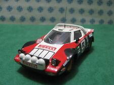 Vintage - LANCIA  STRATOS  Rally MonteCarlo 1978  -  1/43  Elab. base Solido