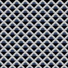 Stof Retro Vibes (4500-479), Blue Quilting Fabric, Per 1/4 Metre