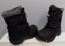 Boy's KEEN Basin Waterproof Boots Size 11 Boys Black
