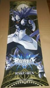 BLAZBLUE  HAKUMEN POSTER  ARC SYSTEM WORKS