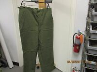 KOREAN ERA-WOOL/NYLON-M1951 TROUSERS, FIELD-SIZE MED/REG-DATED 1951-1953