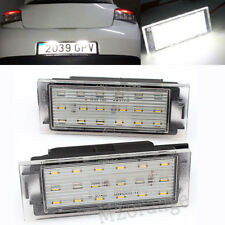 12V LED Number License Plate Light For Renault Twingo Clio Megane Laguna Master