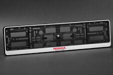 2 x Honda Euro License Plate Frame
