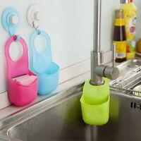 Kitchen Saddle Strainer Double Sink Caddy Storage Sponge Rack Holder Organizer A