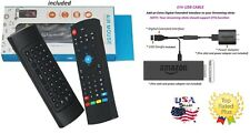 MX3 2.4G Air Mouse Wireless Remote Control & USB OTG Adapter 4 Amazon Fire stick