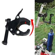 Bike Bicycle Cycling Water Bottle Cage Holder Clamp Clip Seat Post Bracket Stand