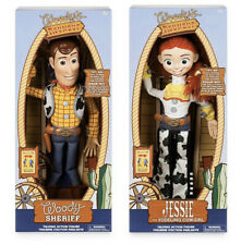 """Disney Toy Story 4 Talking Woody & Jessie 16"""" Action figures Collector Toys New"""