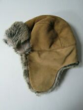 Mint UGG Women Shearling Sheepskin Trapper Hat 0/S