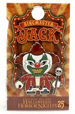 NEW Universal Studios 2015 Halloween Horror Nights 25 HHN RingMaster Jack Pin LE