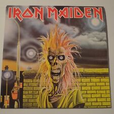 IRON MAIDEN - FIRST ALBUM  -  1991 ORIGINAL CZECH LP LTD. EDITION COLOR VINYL