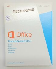 Microsoft Office 2013 Home and Business Genuine Full UK Retail Box 32/64bit