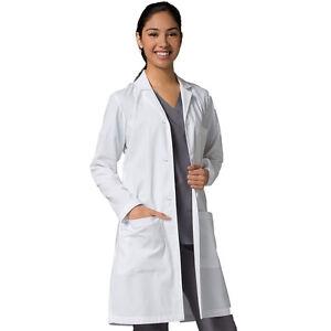 "Red Panda Women's White Long Lab Coat Style 7156 37.5"" Length Sizes XS- 3XL"