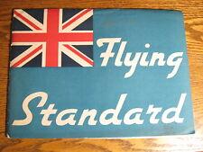 1936 1937 Flying Standard Prestige Portfolio Brochure Xlnt