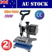 AU Stock 10PCS Pen Heat Transfer Machine Pen Heat Press Machine 220V 450W