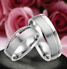 2 Echt Silber 925 Trauringe Eheringe Verlobungsringe , Gravur Gratis , J346