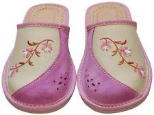 Damen Hausschuhe - Größe 36-41 - Echtleder - Latschen,Pantoffeln - JAD-20