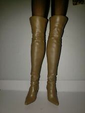Barbie Sexy Thigh High Tan Boots ( Boots Only)