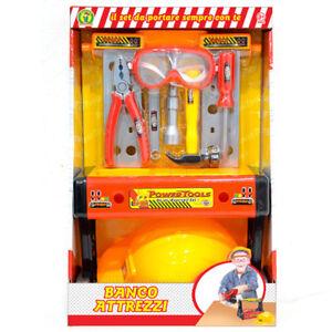 Tavolo attrezzi giocattolo per bambino Banco Meccanico set utensili gioco pinza