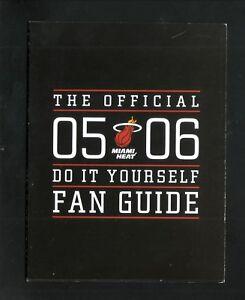 Miami Heat--2005-06 Fan Guide/Schedule--Bud Light