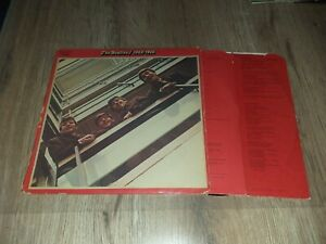 """DOUBLE LP POP / ROCK THE BEATLES """"1962-1966"""" 1973 FRENCH"""