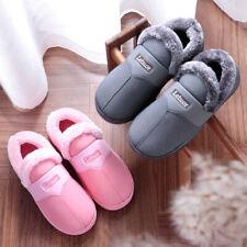 Warm Slippers Men Women Indoor Platform Memory Foam Slipper Cotton Slides Shoes