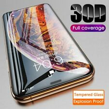 30D For iPhone 11 Pro Max XR Premium Protection Tempered Glass Screen Protector