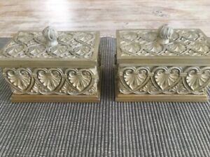 2 Small Decorative Boxes with lids