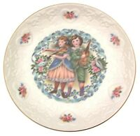 Royal Doulton My Valentine collector plate valentines day 1981 CP72