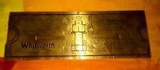 alter Rechenschieber 1923 Elementschieber Normus Fr. Ruesch Made in Swiss Zürich