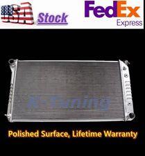"KKS ALUMINUM RADIATOR SHROUD 2x12/"" FAN Chevy//Buick//GMC G1500 2500 G15 G25 G35"