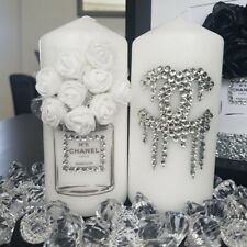 2 Peice Candle Gift Set For Home Decor. Bedroom Dressing Table
