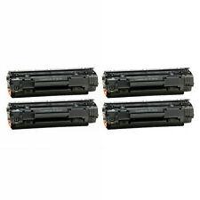 4 Toner Cartridges for HP LaserJet P1005 P1006 M1212nf M1217nfw M1134 CB435A 35A