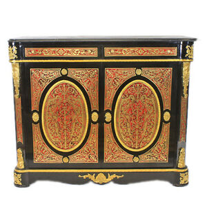 BOULLE - FRANCE LOUIS XIV BOULLE STYLE CABINET  # MB900