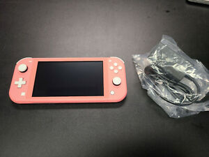New Nintendo Switch Lite Coral Console 32GB Pink + More