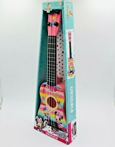 First Act Disney Minnie Mouse , Multicolor 4 String Plastic Ukulele mini Guitar