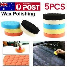 7'' 180mm Polish Buffing Pad Kit Polishing Sponge Waxing Pads Car Polisher 5x@