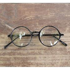 1920s Vintage Eyeglasses Oliver Retro 19R0 Black Round Frames rubyruby